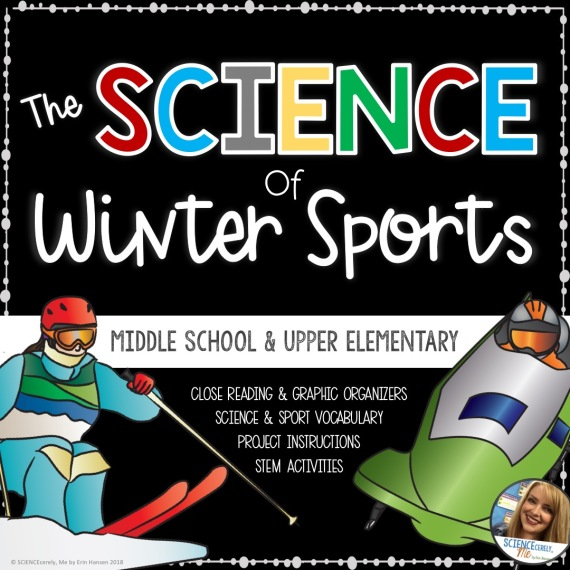 Science of Winter Sports - TpT Cover